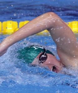 Rebecca Adlington swimming