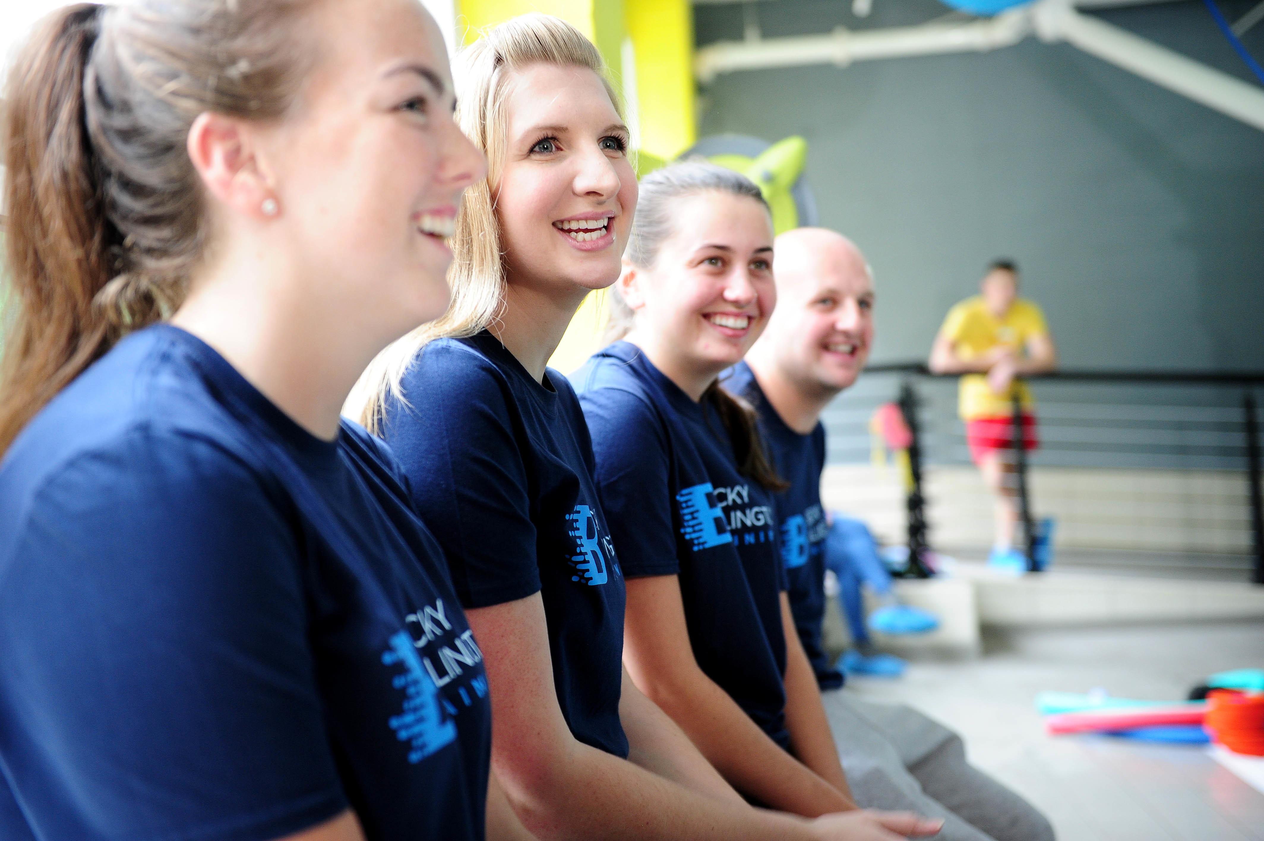 Picture by Simon Wilkinson/SWpix.com 19/09/2015 - Swimming Becky Adlington Training teaching - Total Fitness, Wilmslow Manchester copyright picture - Simon Wilkinson - simon@swpix.com