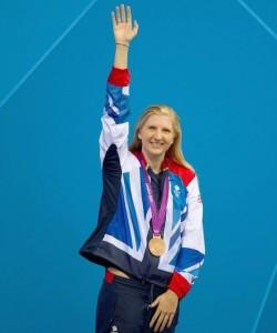 Rebecca Adlington 800m Bronze 2012